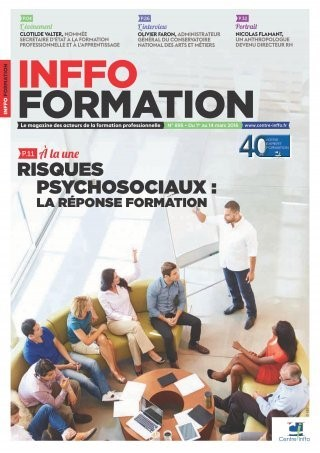 Couverture Inffo Formation 895