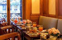 petit déjeuner débat RHEXIS chez Ladurée