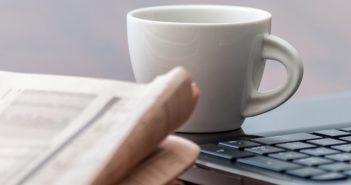 Journal, café, PC - revue de presse formation professionnelle octobre 2016