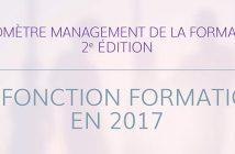 Baromètre RHEXIS 2017 de la fonction formation