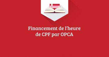Infographie sur les forfaits CPF des Opca