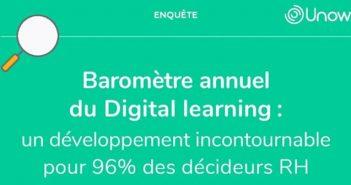 Repères Infographie Unow - le digital learning