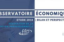 Observatoire économique de la FFP - les organismes de formation en 2018