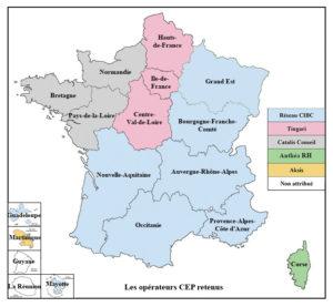 Les nouveaux opérateurs CEP des régions - RHEXIS