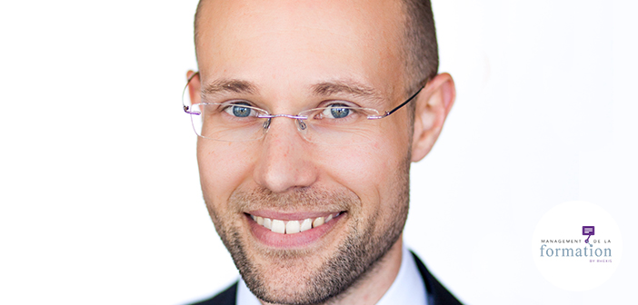 Geoffrey Michalak, responsable formation, groupe SGS