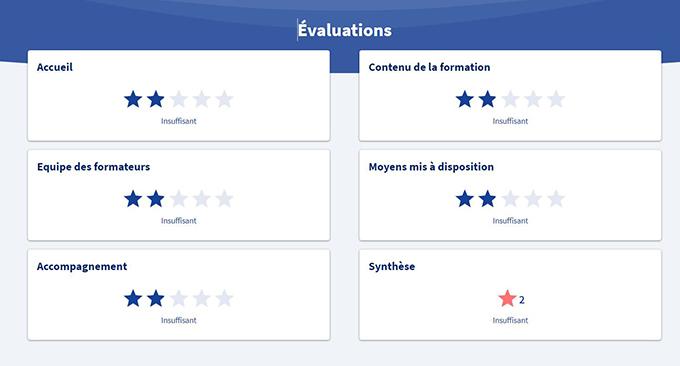 Evaluation des formations sur l'appli CPF - 3